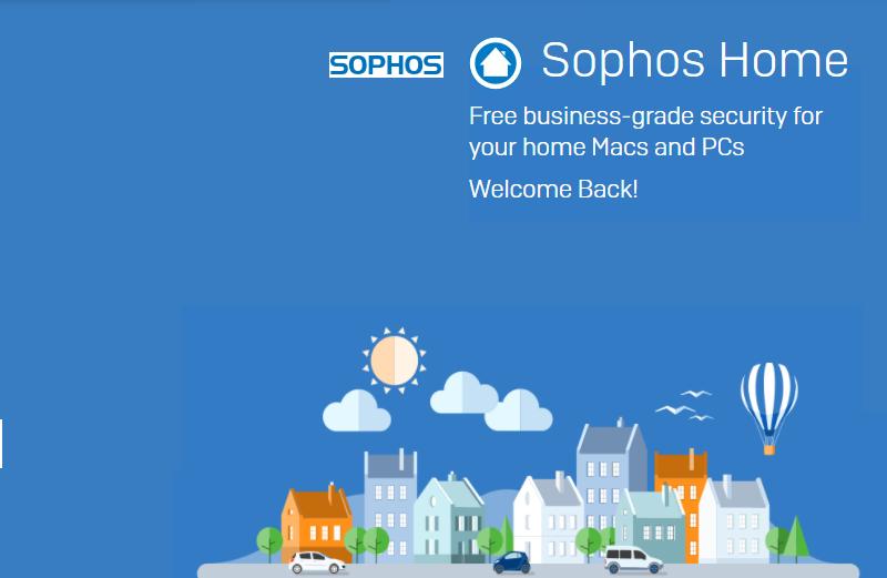Sophos Home ~ Free Antivirus for home