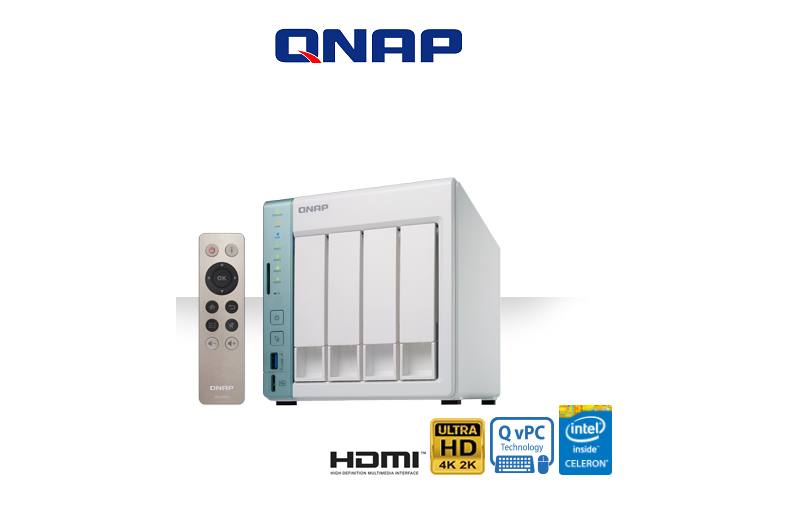 QNAP TS-451A ~ USB QuickAccess port for direct access to files