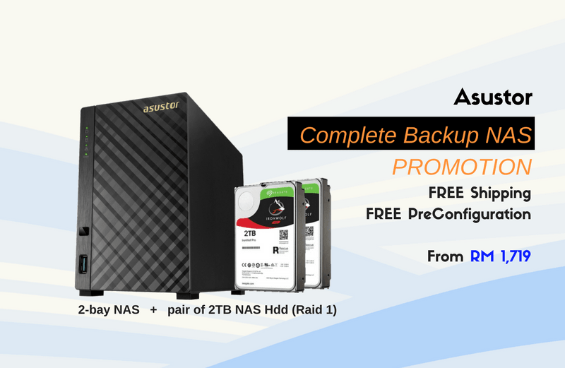 ASUSTOR Backup NAS Promotion