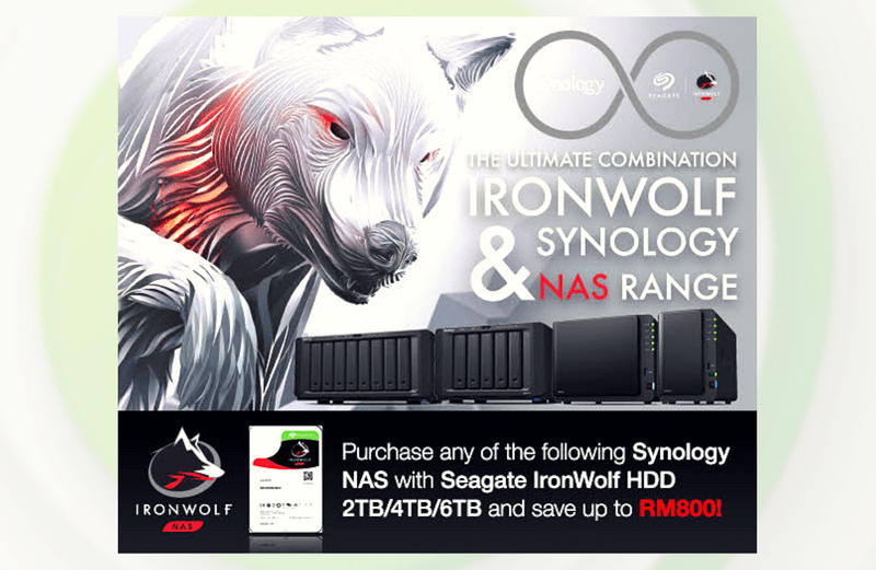 [Promotion] The Ultimate Combination of IronWolf & Synology NAS Range