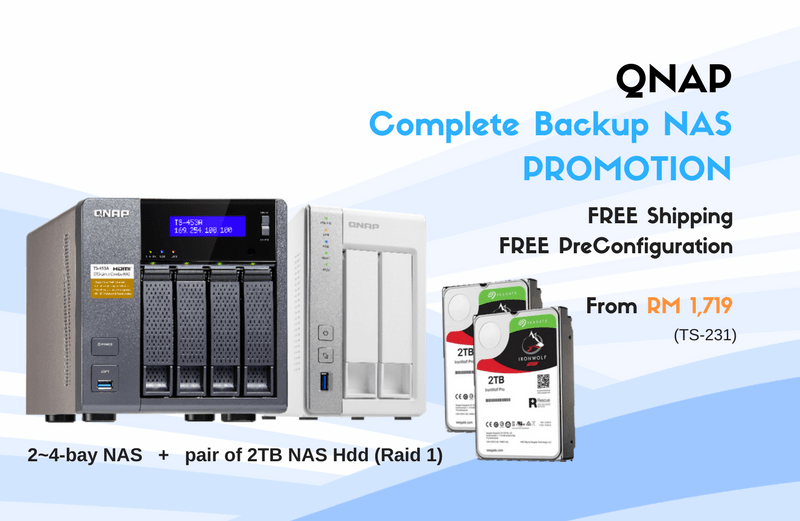 Qnap Backup NAS Promo Package