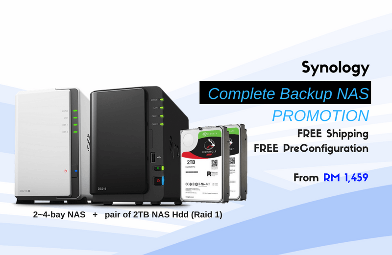 Synology Backup NAS Promotion
