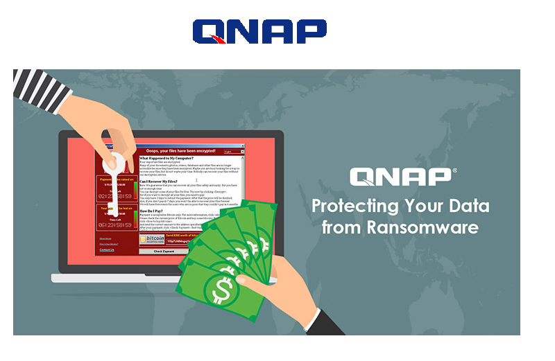 Protect Against WannaCry Ransomware – Use QNAP NAS