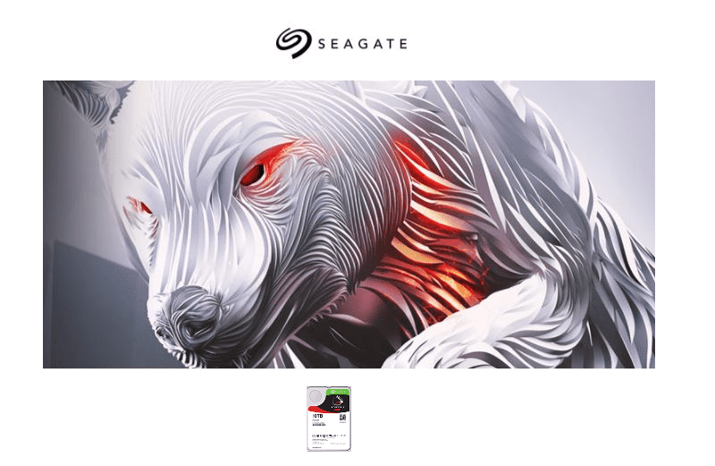 Seagate IronWolf  The Power of Agility for Everything NAS