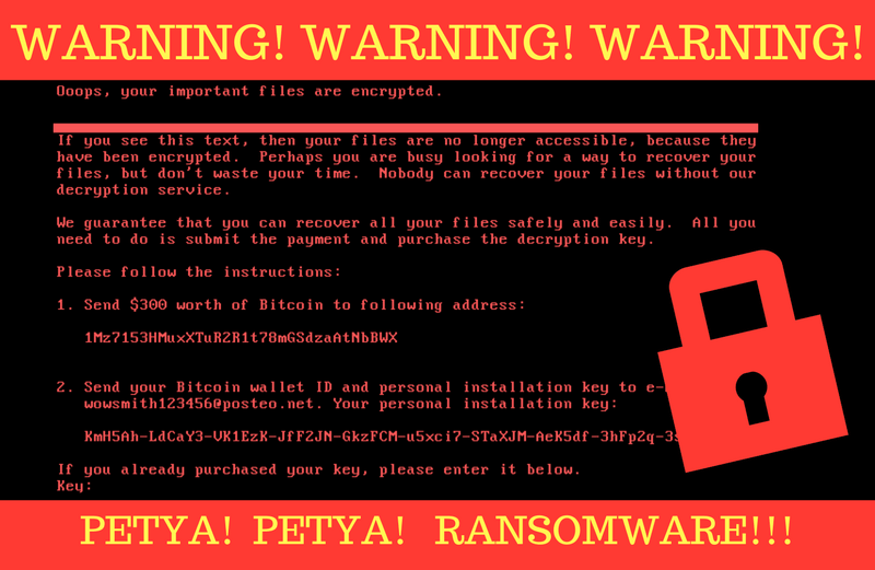Petya Ransomware Spreading Rapidly Worldwide, Just Like WannaCry