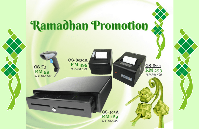 Ramadhan Promotion for POS Accessories