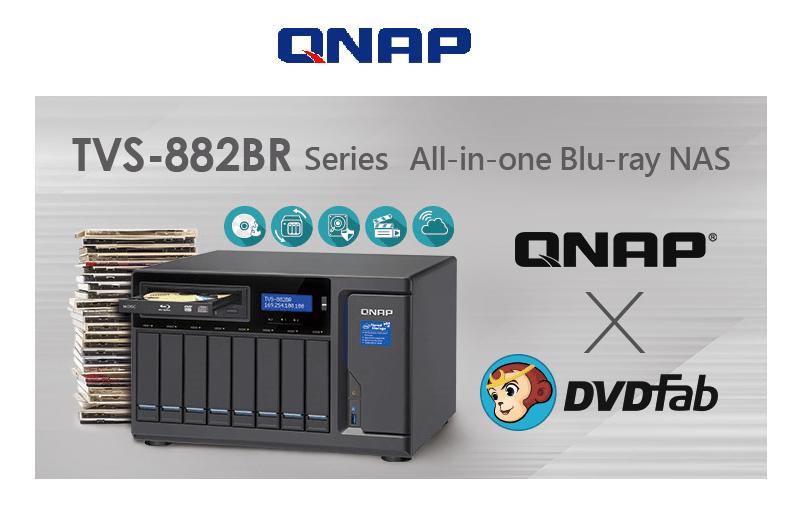 QNAP TVS-882BR Blu-ray NAS