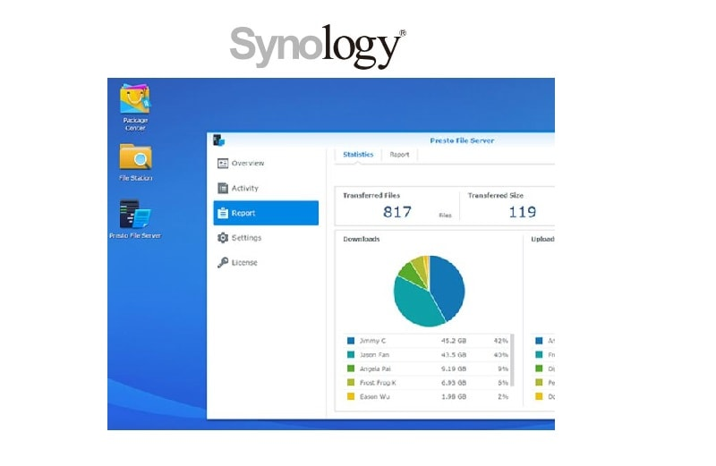 Synology® Announces the Official Release of Presto File Server