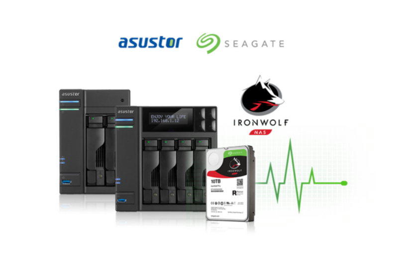[News] ASUSTOR AND SEAGATE TECHNOLOGY BRING IRONWOLF HEALTH MANAGEMENT TO ASUSTOR NAS