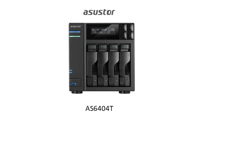 ASUSTOR AS6404T with USB Type-C Ports Allow you to Connect to a New Generation of Devices