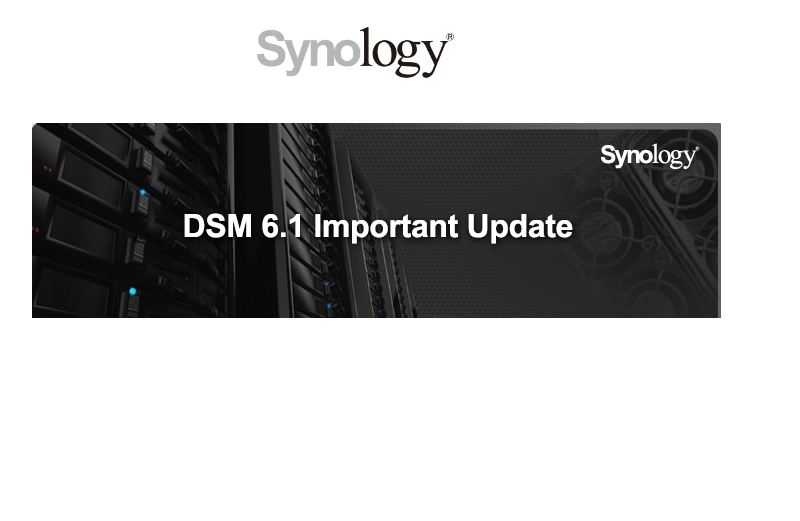 Synology Released DSM 6.1.3 Update 4 to Fortify Data Integrity