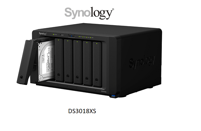 Synology DiskStation DS3018xs (5 years warranty) Powerful 6-bay NAS