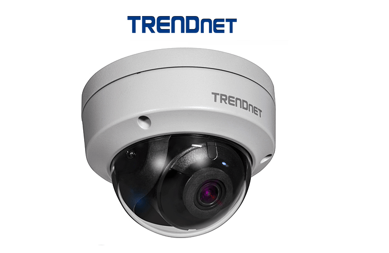 TRENDnet TV-IP317PI 5MP H.265 WDR PoE IR Dome IPCAM