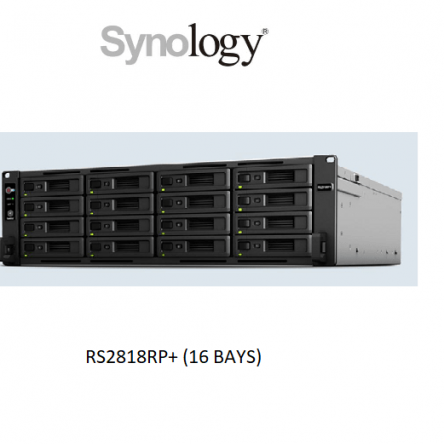 Synology RackStation RS2818RP+ (16 Bays Scale up to 28 bays)